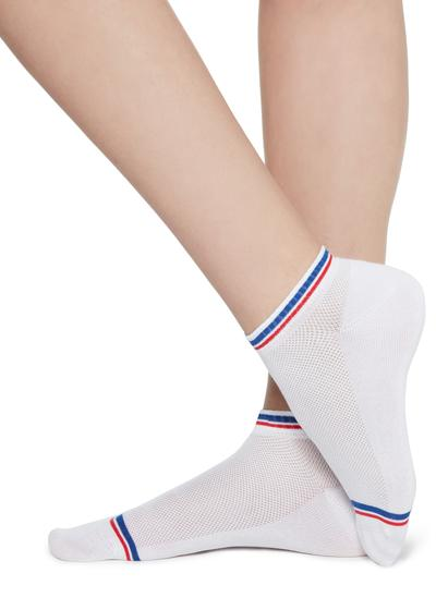 Patterned cotton pop socks