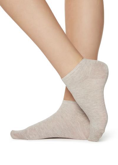 Linen pop socks