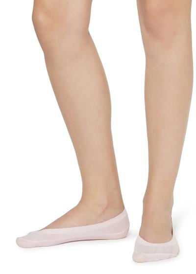 Low-cut ballerina socks