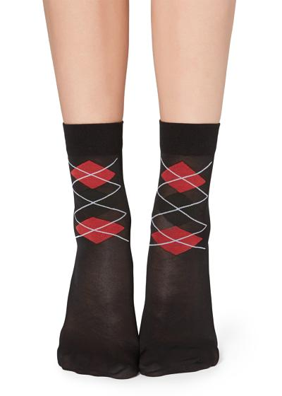 Classic patterned socks