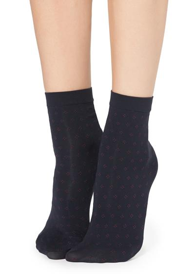 Klassisch gemusterte Socken