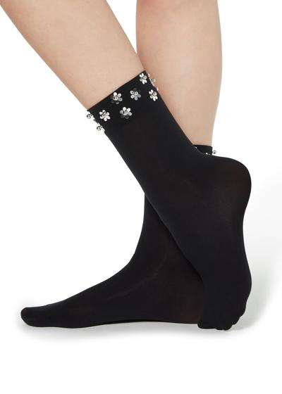 Fancy socks with on-trend details