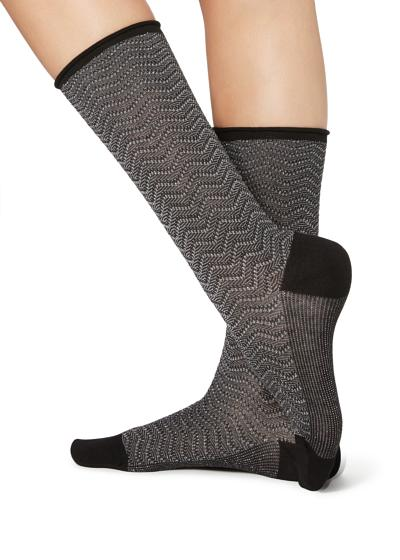 Long Patterned Socks
