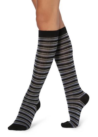 Dlouhé Vzorované Ponožky