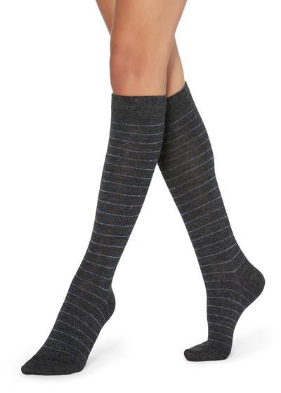 Chaussettes Longues avec Motifs