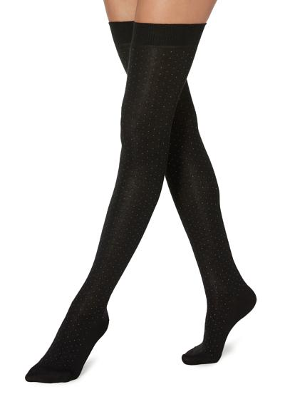 Maxi Warm Knee-High Socks with Application