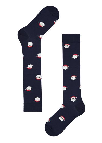 Men's Long Cotton Christmas Socks