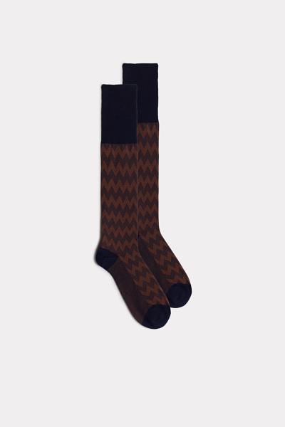 Multi-Pattern Long Cotton Socks