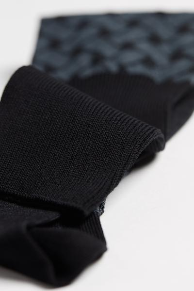 Multi-Pattern Long Cotton Socks
