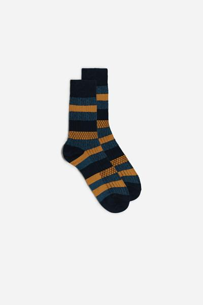 Short Cotton Socks in Different Patterns