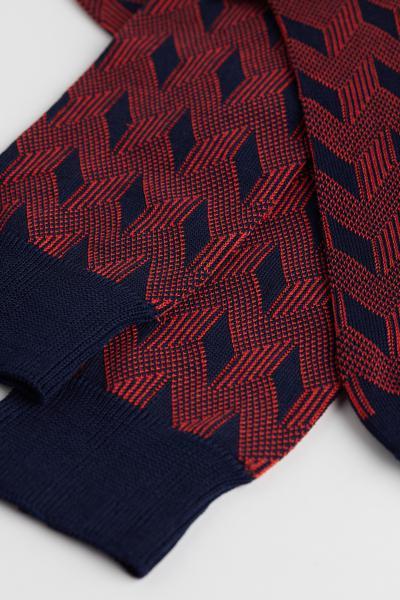 Multi-Pattern Short Cotton Socks