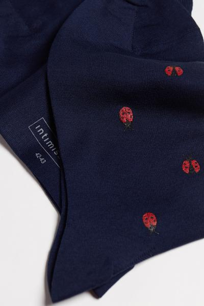 Chaussettes Courtes Motifs Variés Coton