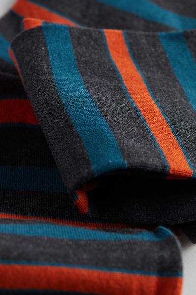 Chaussettes Courtes Motifs Variés Coton Supima