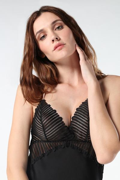Viscose Geometric Stripes Babydoll