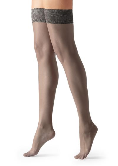 20 Denier Sheer Thigh-Highs