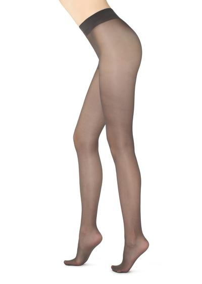 Halbtransparente Strumpfhose Shaping 30 Denier mit Controll Top
