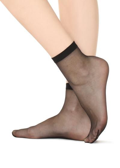 Ultra Transparente Socken 8 Denier
