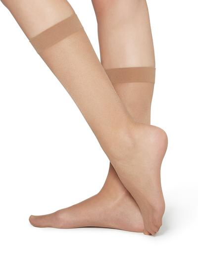 20 denier 3/4 Length Sheer Socks