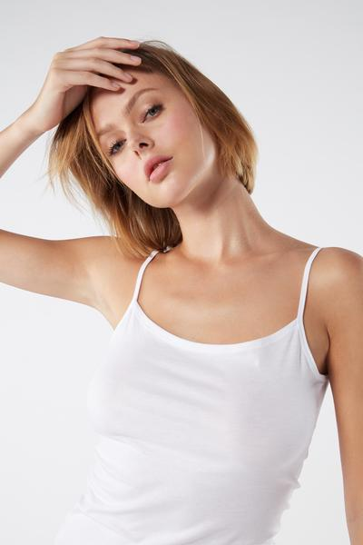 Extra-Fine Supima® Cotton Vest Top