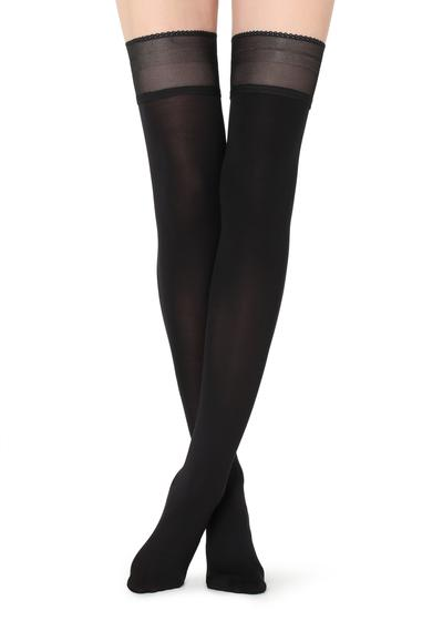 Opaque soft touch hold-ups