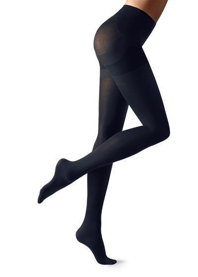80 Denier Super Opaque Total Shaper Tights