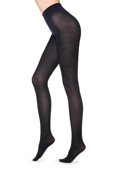 Silky touch opaque tights