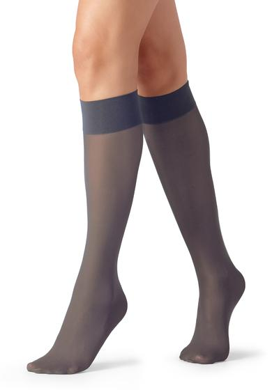 30 Denier Semi Opaque Microfibre Knee-Highs