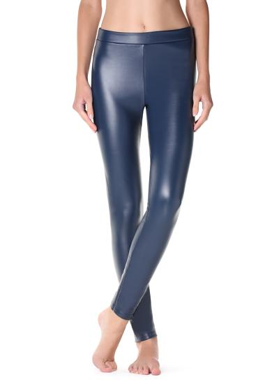 Leggings similicuir ultra thermiques