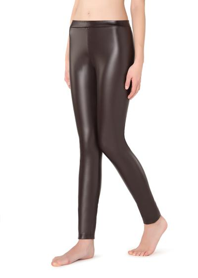 Bőrhatású thermo leggings