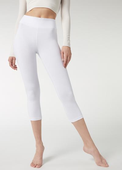 Cropped Cotton Leggings