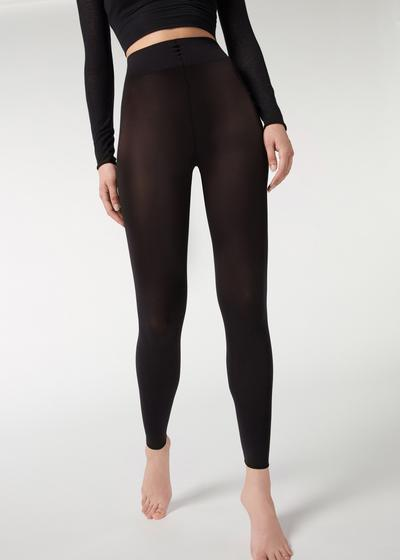 Soft touch total comfort opaque leggings