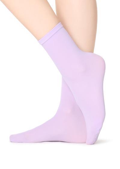 Blickdichte Kurze Socken aus Mikrofaser 50 Denier