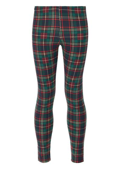 Girls' Tartan Leggings