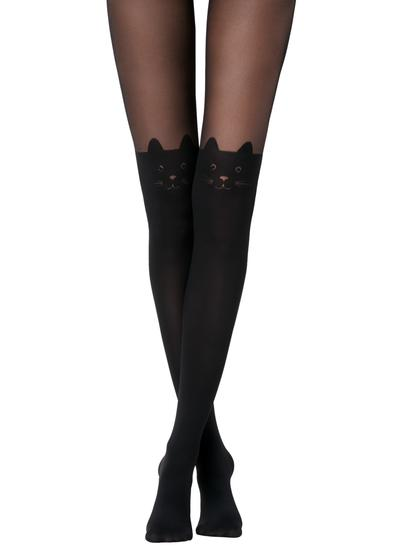 Collants Longuette Gato Laço