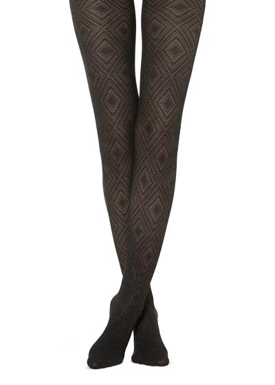 Collants Macios Diamantes Brilhantes