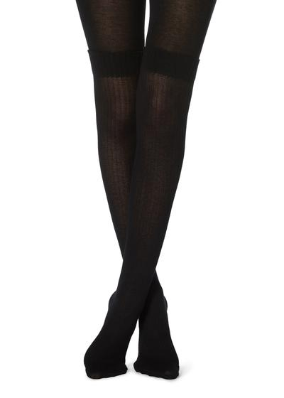 Collants longuette de caxemira