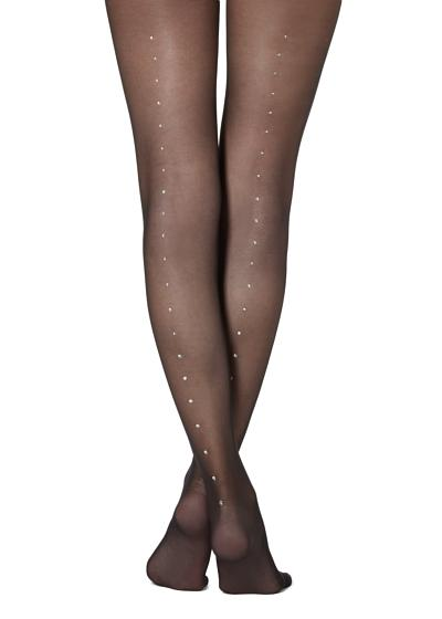 Collants com strass