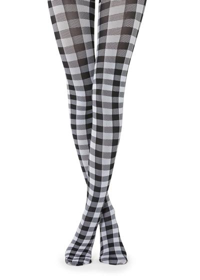 Vichy Patterned Tights