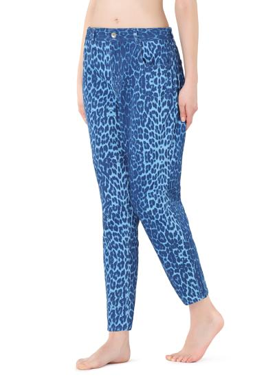 Jeans stampa animalier