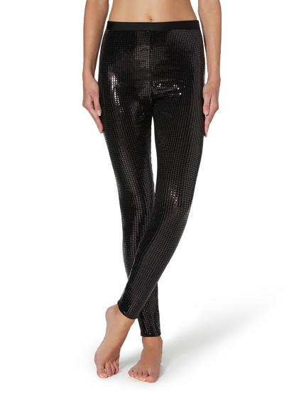 Leggings con paillettes