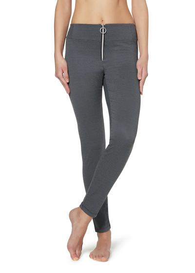 Leggings Stretch com Fecho Central