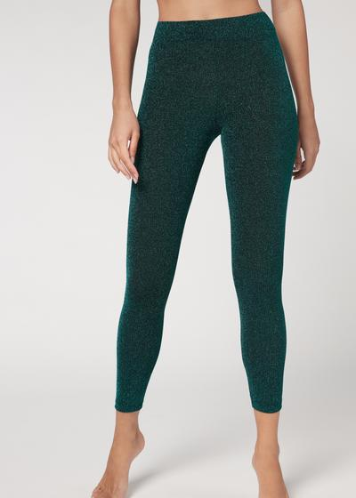 Glitter comfort leggings