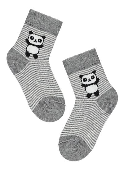 Baby Short Patterned Cotton Socks