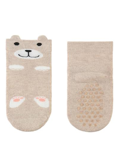 Newborn non-slip cotton ankle socks