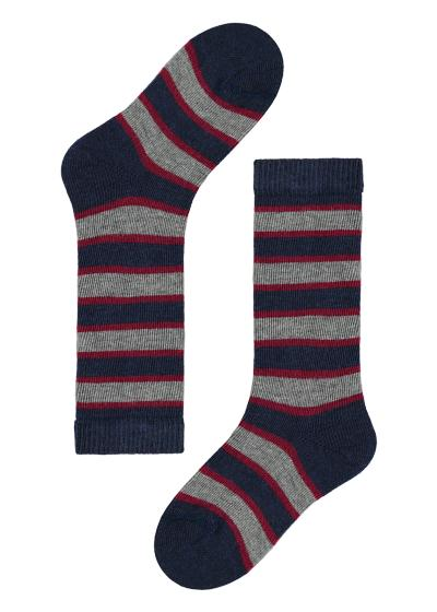 Baby Long Patterned Cotton Socks