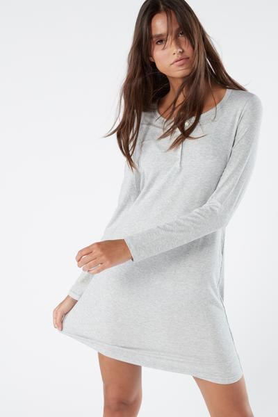 Ribbed Modal Nightgown