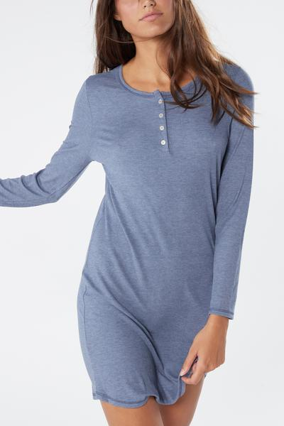 Ribbed Modal Blend Nightgown
