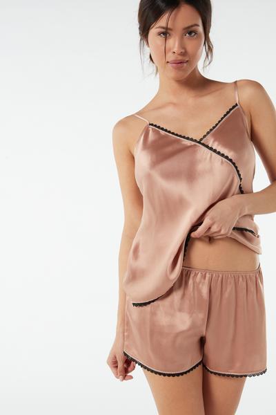 Rare Beauty Silk Shorts