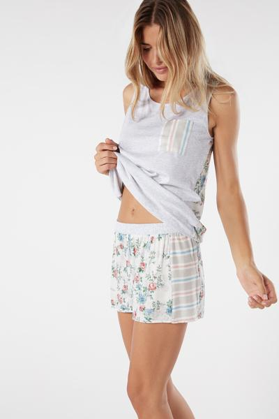 Viscose Flower Shorts