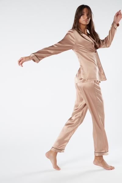 Silk Satin Pajama Pants